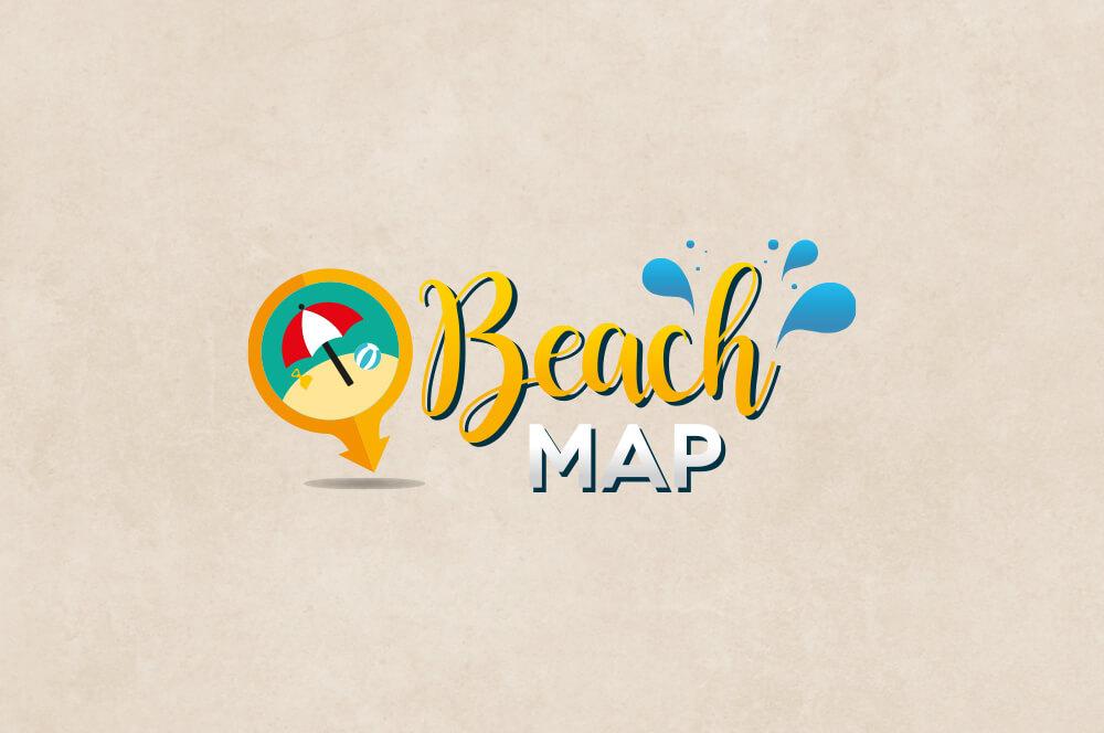 Beach Map logo