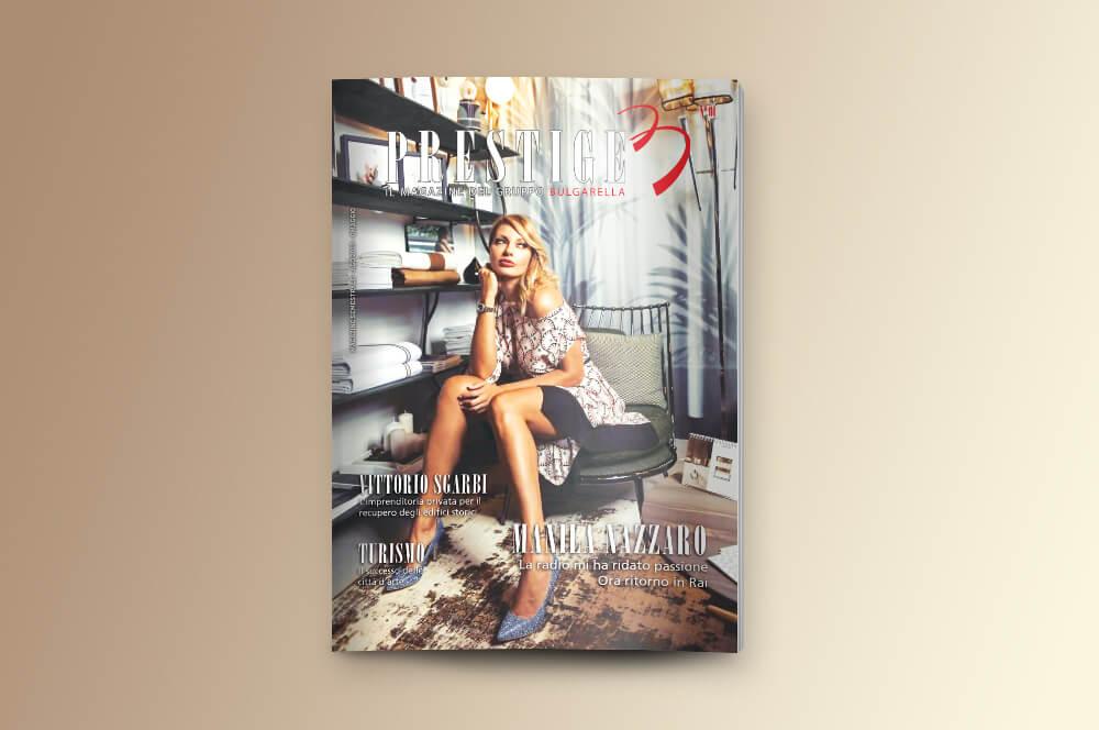 prestige magazine copertina