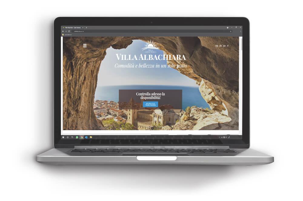 VillAlbachiara sito web