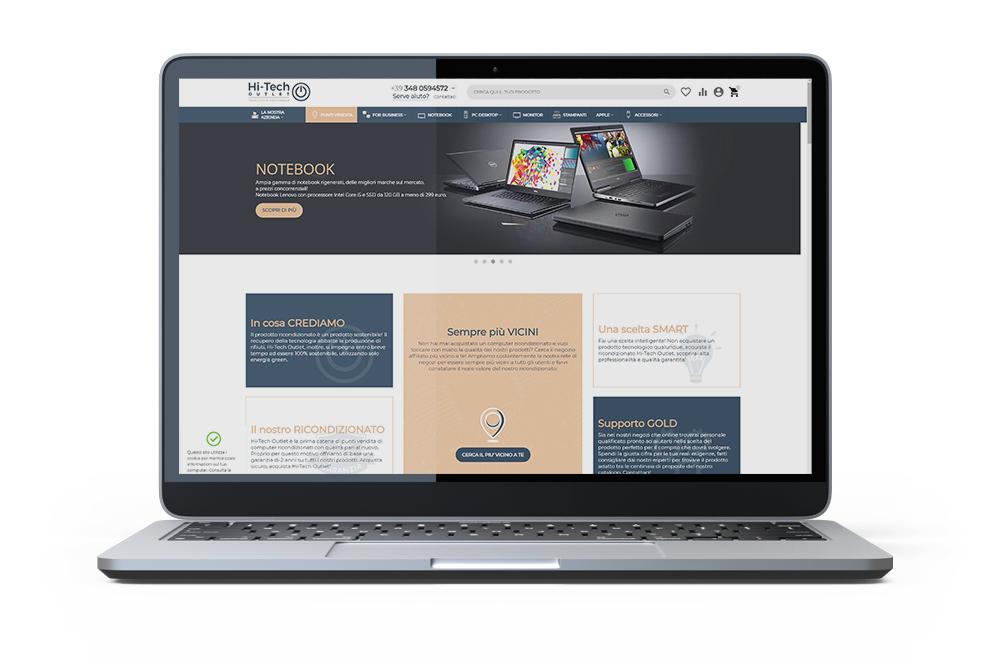 Hi-tech sito WEB