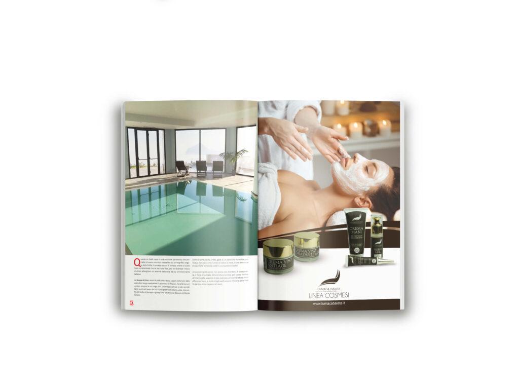 lumaca baiata pubblicita magazine