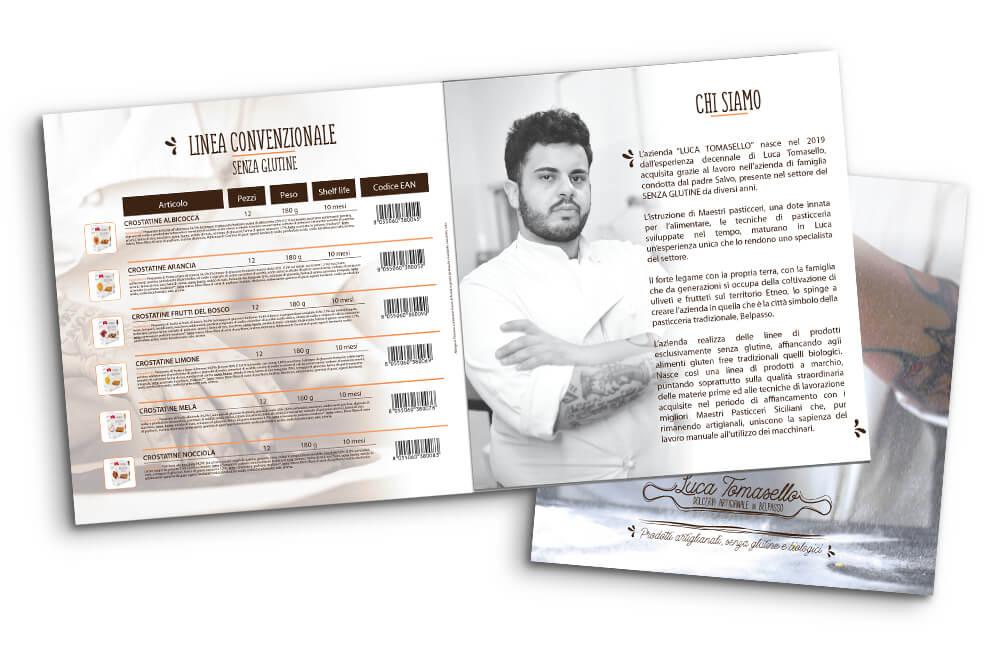 progetto luca tomasello brochure