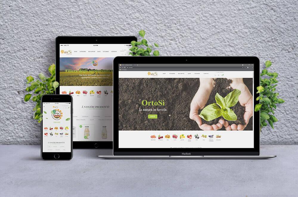 Sito web Progetto OrtoSì